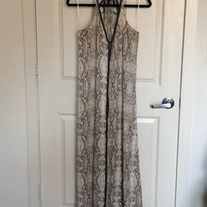 Love stitch maxi dress